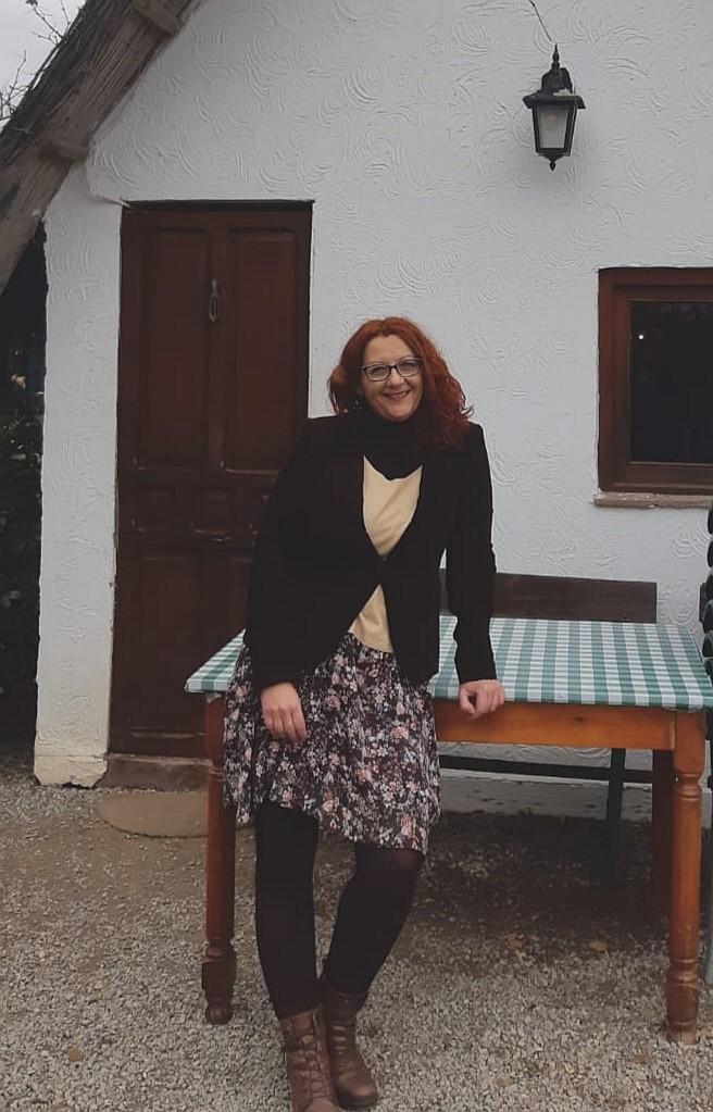 imagen Luz Ros en barraca entrevista valores